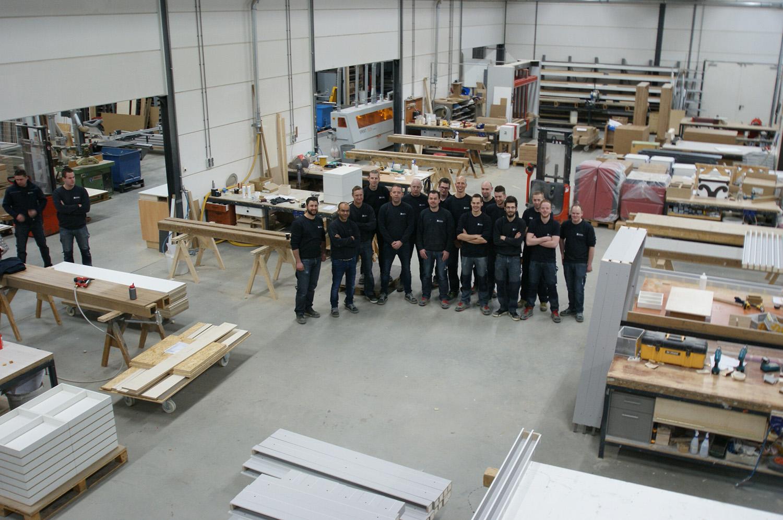 Interieurbouw Heusden - werkplaats